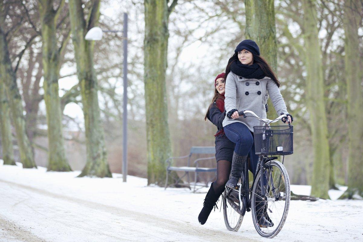 Wind Schnee Und Eis So Machen Sie Ihr Fahrrad Winterfest
