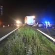 Ein BMW erfasste auf der A1 in der Nacht zu Donnerstag eine Leiche.