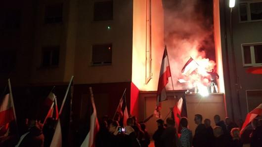 Neonazis zogen bei Demos am Freitag durch Dortmund und skandierten antisemitische Parolen.