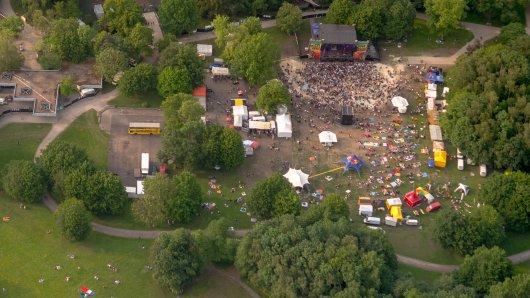 In Dortmund im Revierpark Wischlingen fand am Wochenende ein Festival statt. Am nächsten Tag kam dann die böse Überraschung. (Symbolbild)