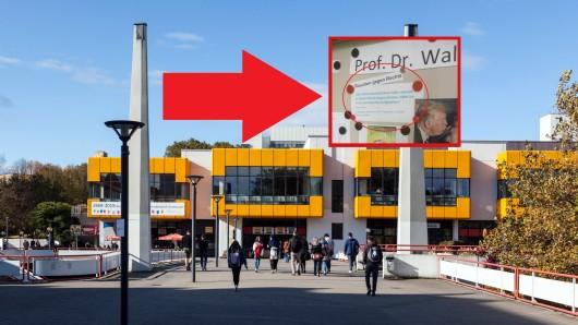 An der TU Dortmund sorgt ein Hitler-Zitat für erhitzte Gemüter.