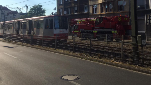 In Dortmund ist es am Donnerstag zu einem schweren Unfall gekommen.