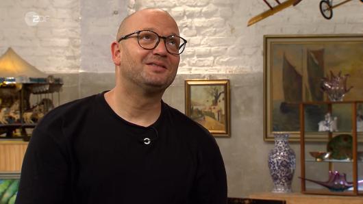"""""""Bares für Rares""""-Experte Sven Deutschmanek ist begeistert."""
