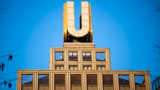 Seit den 60er-Jahren thront das U auf dem Gebäude der Union Brauerei.
