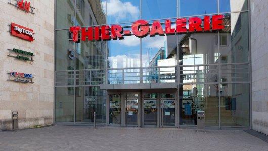 Die Thier-Galerie in Dortmund ist, wie viele Einkaufszentren, seit dem erneuten Lockdown nahezu geschlossen. (Archivfoto)