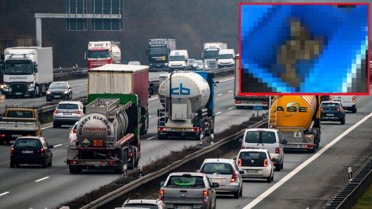 A2 bei Dortmund: Ein Lkw-Fahrer handelte schnell. (Symbolbild)