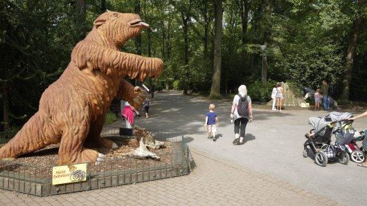 Zoo Dortmund: Ankündigung mit einem Haken