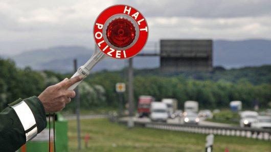Autobahn-Einsatz für die Polizei. (Symbolfoto)