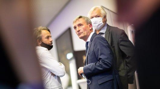 Nichts zu lachen für den amtierenden OB Thomas Geisel (SPD) nach der Kommunalwahl in Düsseldorf