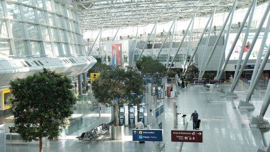 Festnahme am Flughafen Düsseldorf (Symbolbild)