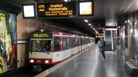 Neue Gefahr an U-Bahn-Haltestellen in Düsseldorf.