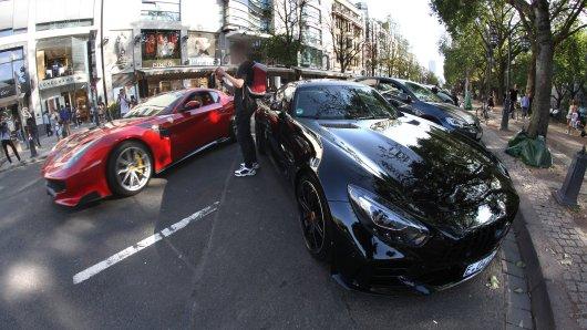 Auf der Kö in Düsseldorf protzen viele Autobesitzer gerne mit ihrer Karre rum (Symbolfoto).