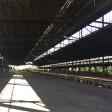 So sieht der alte Güterbahnhof in Duisburg innen aus.