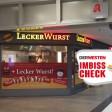 Hier gibt es eine gute Currywurst am Hauptbahnhof in Duisburg.