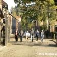 Die jungen Muslime aus Duisburg besuchen das ehemalige Konzentrationslager.