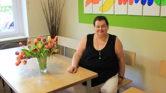 """Nicole Elshoff (46) im Duisburger Verein """"Immersatt"""". Sie findet: """"Kinderarmut ist kein Duisburger Problem."""""""