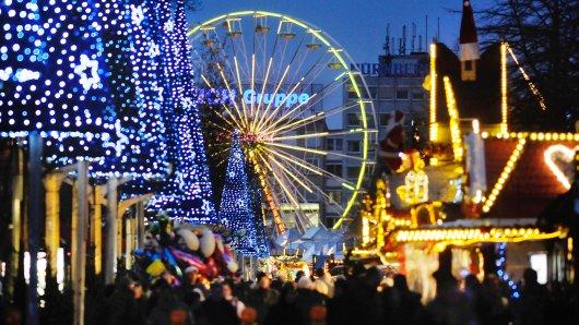 Kein Riesenrad mehr auf dem Weihnachtsmarkt Duisburg.