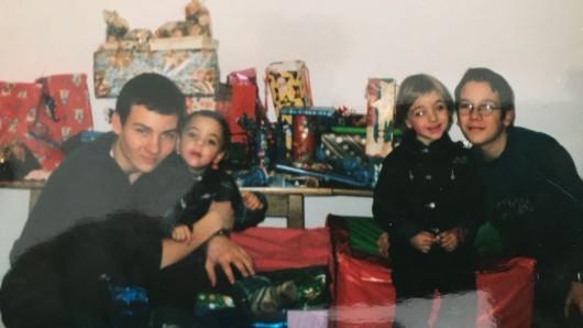 Weihnachten mit meinen Geschwistern.