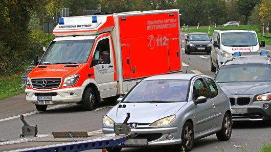Schrecklicher Unfall auf der A42 bei Duisburg. (Symbolbild)