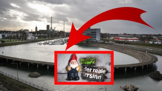 """""""Extra3"""" hat sich in seiner Sendung über ein Bau-Projekt in Duisburg lustig gemacht,"""