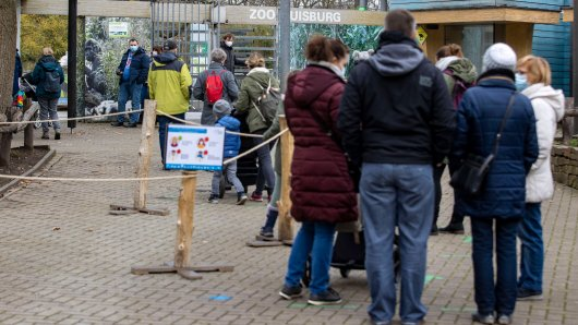 Der Zoo Duisburg hat einen neuen Service am Start. (Symbolfoto)