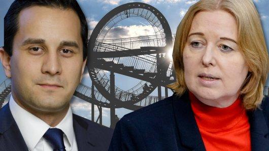 Die beiden bisherigen Direktabgeordneten aus Duisburg stammen von der SPD: Mahmut Özdemir und Bärbel Bas.