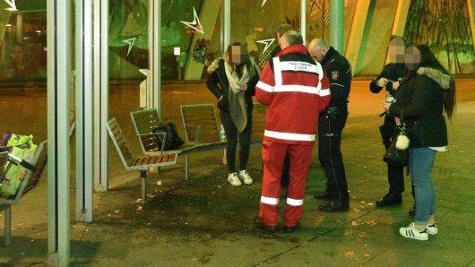 Eine Person musste nach der Attacke ins Krankenhaus.