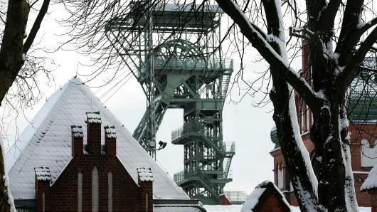 Schnee + Zeche + Weihnachten - das gibt's im Ruhrgebiet nicht oft. (Symbolbild)
