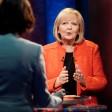 Ministerpräsidentin Hannelore Kraft (SPD) am Dienstagabend im TV-Duell.