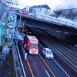 Im Tunnel auf der A40 fuhren drei Pkw auf.