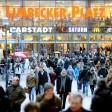 Der Limbecker Platz ist das größte Einkaufszentrum Essens.