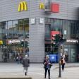McDonald's am Hauptbahnhof Essen.