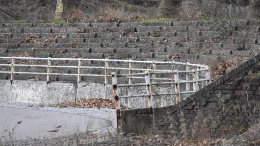 Das Stadion Mathias Stinnes in Essen-Karnap ist eine Ruine mit stolzer Vergangenheit.