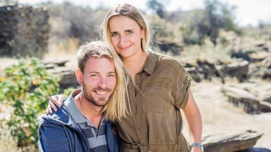 Gerald aus Namibia und Anna aus Essen werden am 29. Juli heiraten.