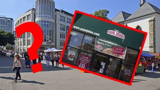 Papa John's Pizza will nach Westdeutschland - kommt die Fastfood-Kette ins Ruhrgebiet?