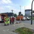 Am Limbecker Platz in Essen hat es einen schweren Unfall gegeben.