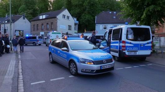 Die Polizei war mit mehreren Fahrzeugen in Essen-Steele im Einsatz.