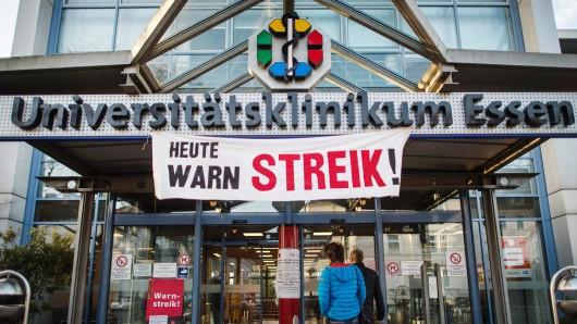 Der Streik geht weiter.