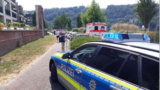 In Essen wurde am Freitag eine Leiche in der Ruhr gefunden.