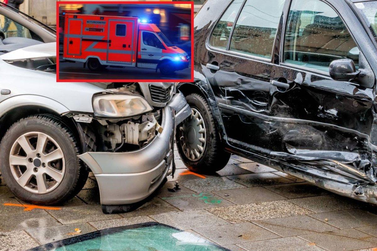 Essen Großer Unfall Auf Lidl Parkplatz Frau Machte Bösen Fehler