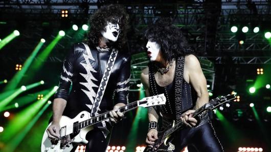 """""""Kiss"""" macht auf seiner Abschiedstour Stopp in Essen."""