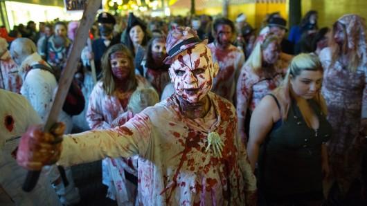 Der Zombie-Walk Essen ist einer der größten Deutschlands.