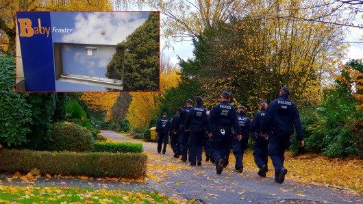 Eine Hundertschaft der Polizei suchte am Dienstagmorgen das Baby auf der Essener Ostbahnhof.