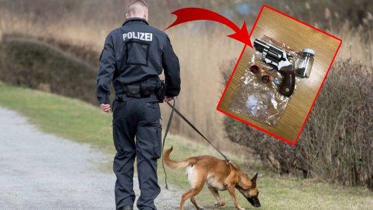 Ein Bundespolizist aus Essen und sein Diensthund machten eine Zufalls-Entdeckung.