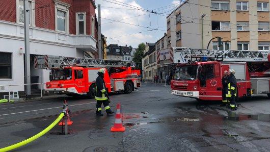 Aktuell ist die Katernberger Straße in Essen gesperrt.