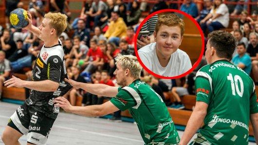 Julius Wyrwa (16) hat Krebs. Sein Handballverein in Essen hat mit einer unglaublichen Aktion gezeigt: Wir stehen alle hinter dir!