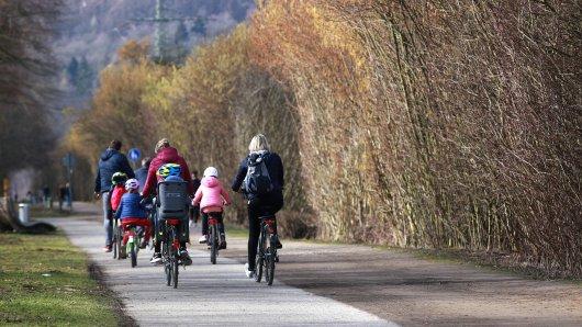 In Essen aht eine Gruppe Radfahrer für Aufsehen gesorgt. (Symbolbild)