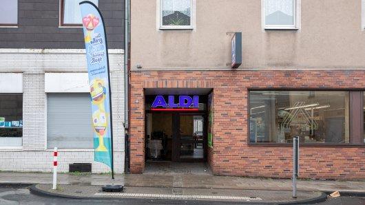 Die Aldi-Filiale an der Huestraße in Essen wird dicht gemacht.