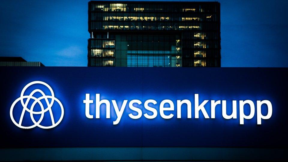Thyssen Krupp streicht in Essen die Hälfte aller Stellen.