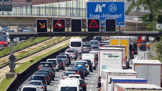 Auf der A40 in Essen wird es keine Fahrverbote geben.